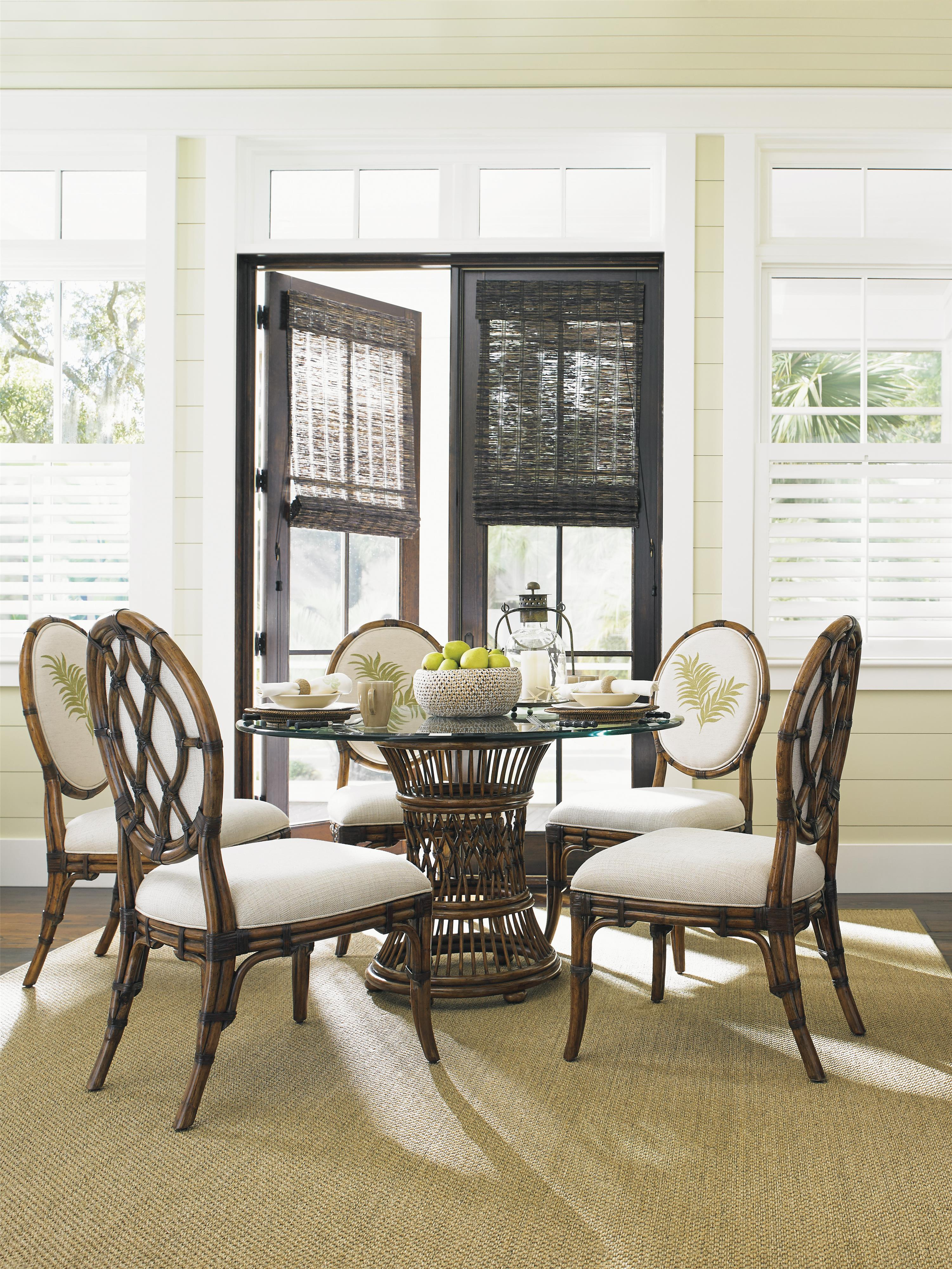 Bali Hai Tropical 7 Piece Dining Set by Tommy Bahama Home at Baer's Furniture
