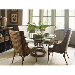 Tropical 5 Piece Dining Room Set