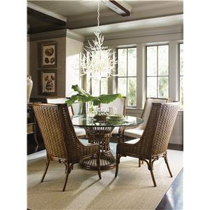 Tropical 7 Piece Dining Set