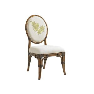 Tommy Bahama Home Bali Hai Quickship Gulfstream Oval Back Side Chair