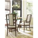 Tommy Bahama Home Bali Hai Customizable St. Bart's Splat Back Dining Arm Chair