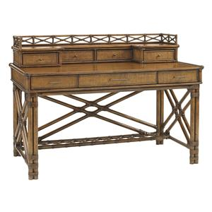 Tommy Bahama Home Bali Hai Enchanted Isle Desk and Box of Drawers