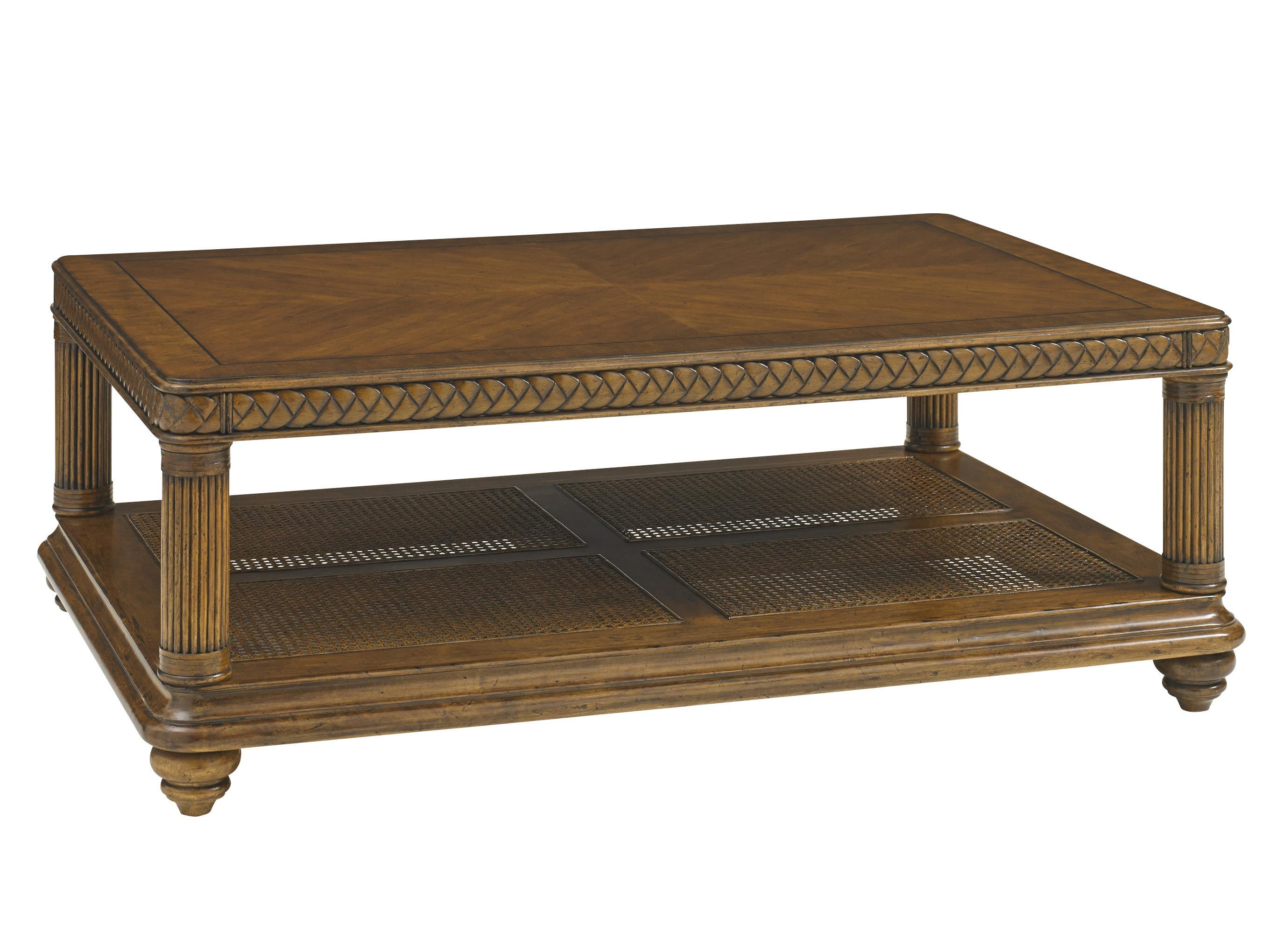 Tommy Bahama Home Bali Hai Vinyard Point Rectangular Cocktail Table - Item Number: 593-945