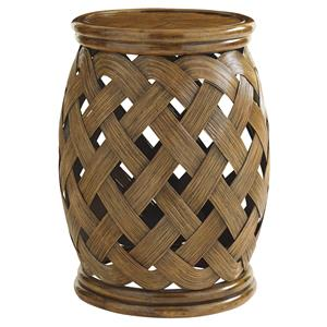 Tommy Bahama Home Bali Hai Hibiscus Round Accent Table