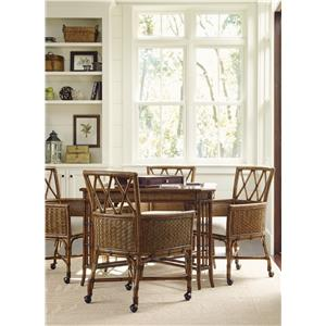 Tommy Bahama Home Bali Hai 5 Piece Game Table