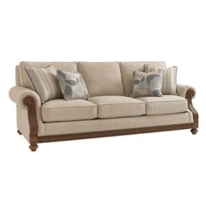 Tommy Bahama Home Bali Hai Customizable Shoreline Sofa