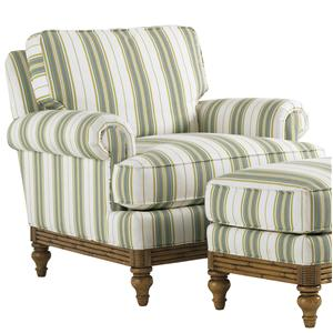 Tommy Bahama Home Beach House 1604 11 Golden Isle Upholstered Chair Baer S Furniture Chairs