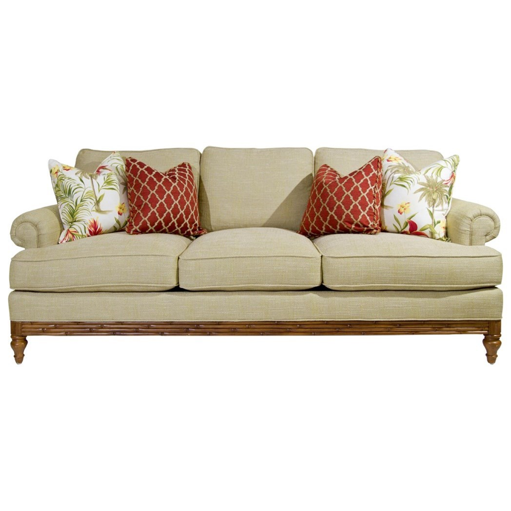 Beach House Golden Isle Sofa by Tommy Bahama Home at Baer's Furniture