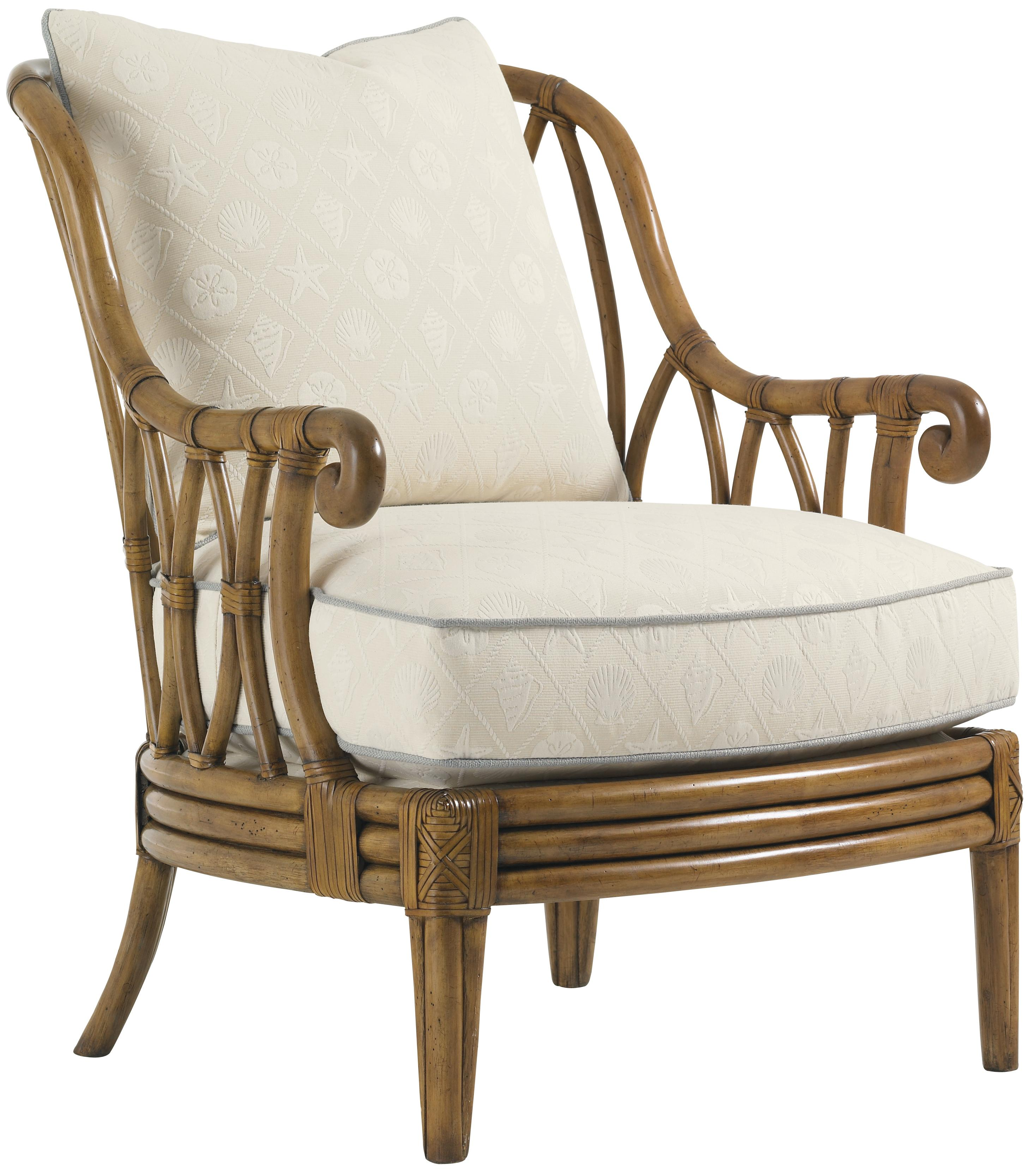 Beach House Ocean Breeze Chair by Tommy Bahama Home at Baer's Furniture