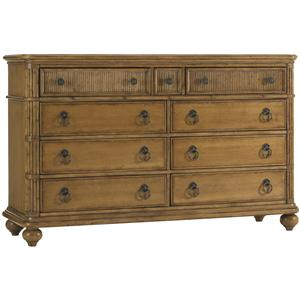 Tommy Bahama Home Beach House Biscayne 9 Drawer Dresser