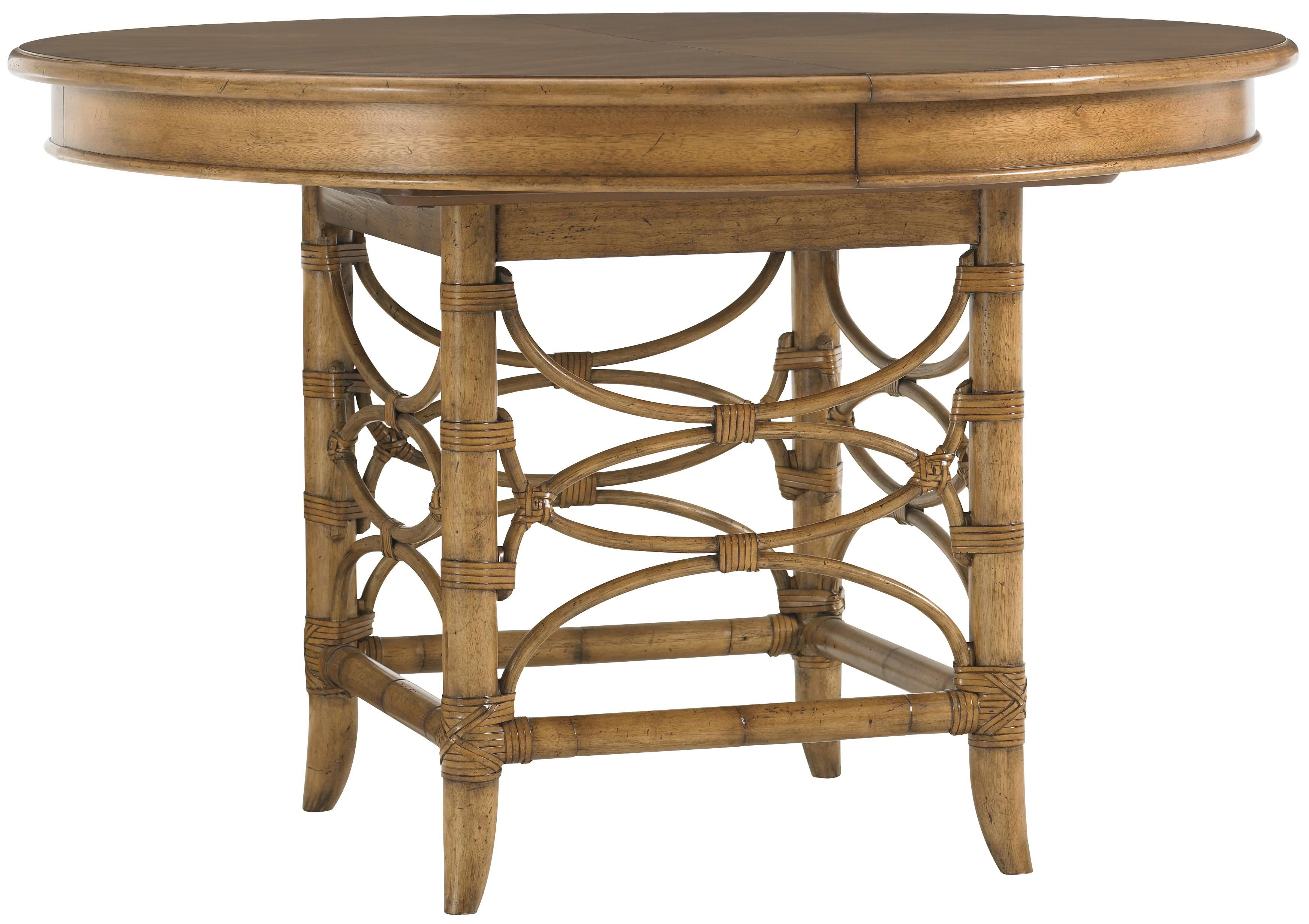 Tommy bahama home beach house 540 870c round coconut grove for S bent dining room furniture