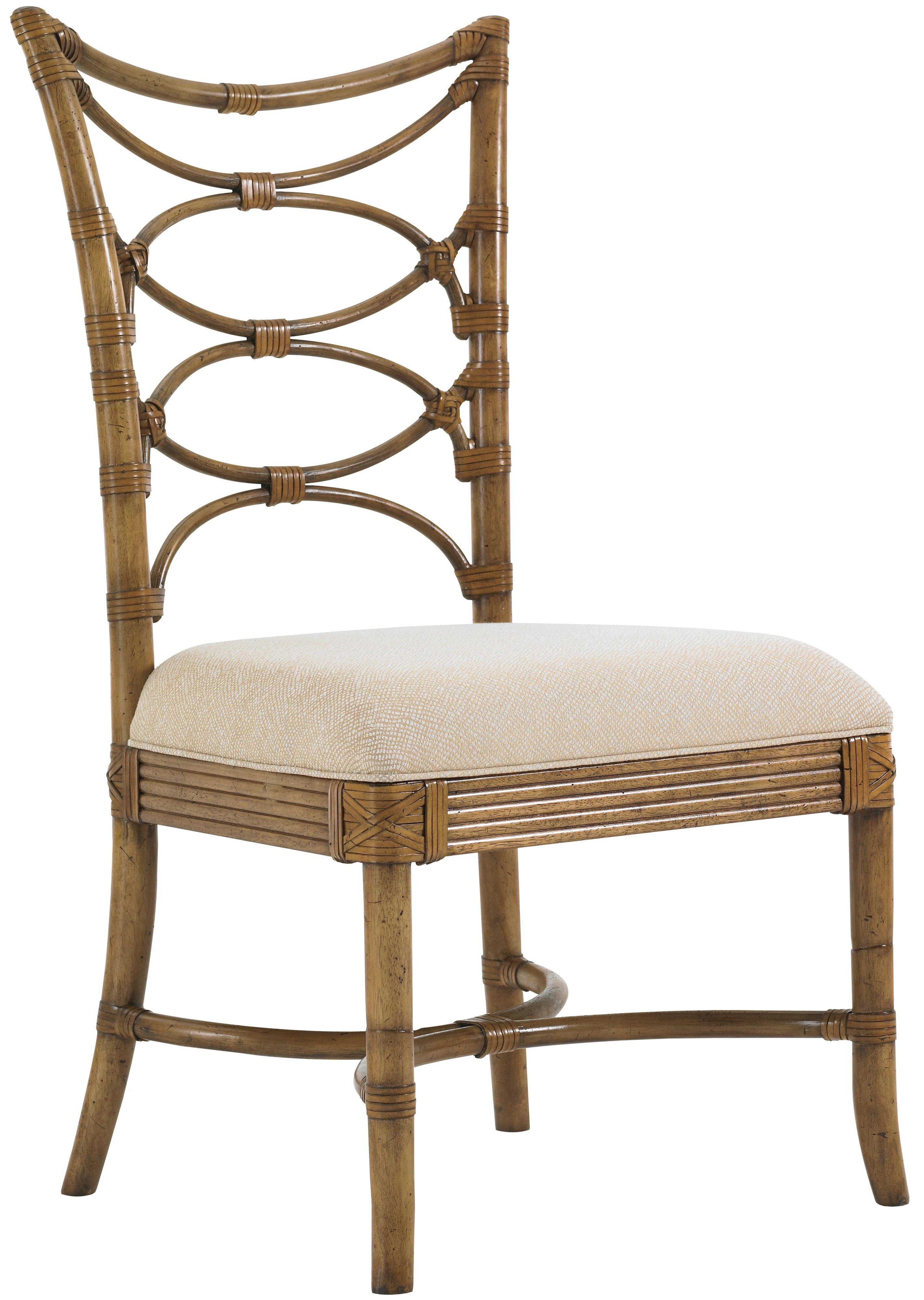Tommy Bahama Home Beach House <b>Quick Ship</b> Sanibel Side Chair - Item Number: 540-880-01