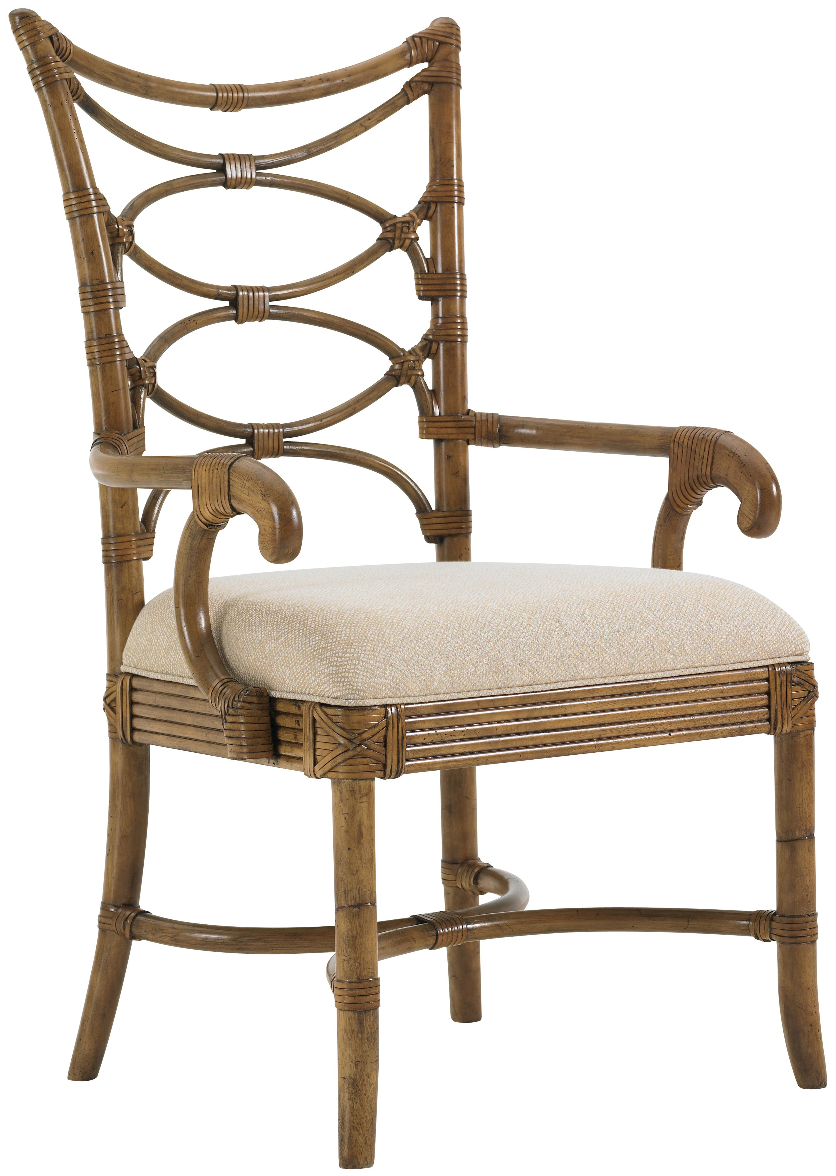 Tommy Bahama Home Beach House Sanibel Dining Arm Chair - Item Number: 540-881-01