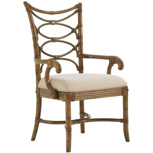 Tommy Bahama Home Beach House <b>Customizable</b> Sanibel Arm Chair