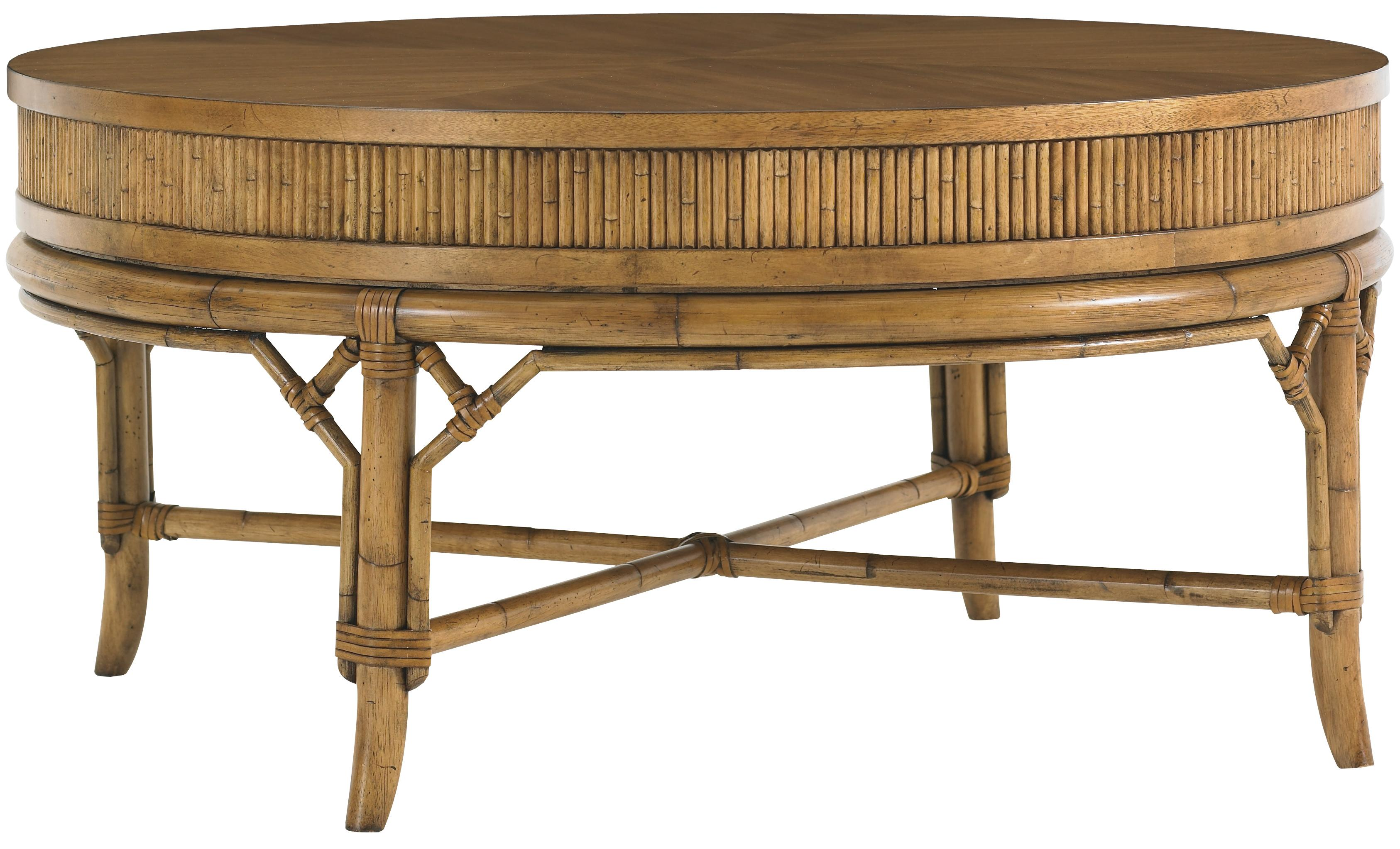 Tommy Bahama Home Beach House Oyster Cove Round Cocktail Table - Item Number: 540-943