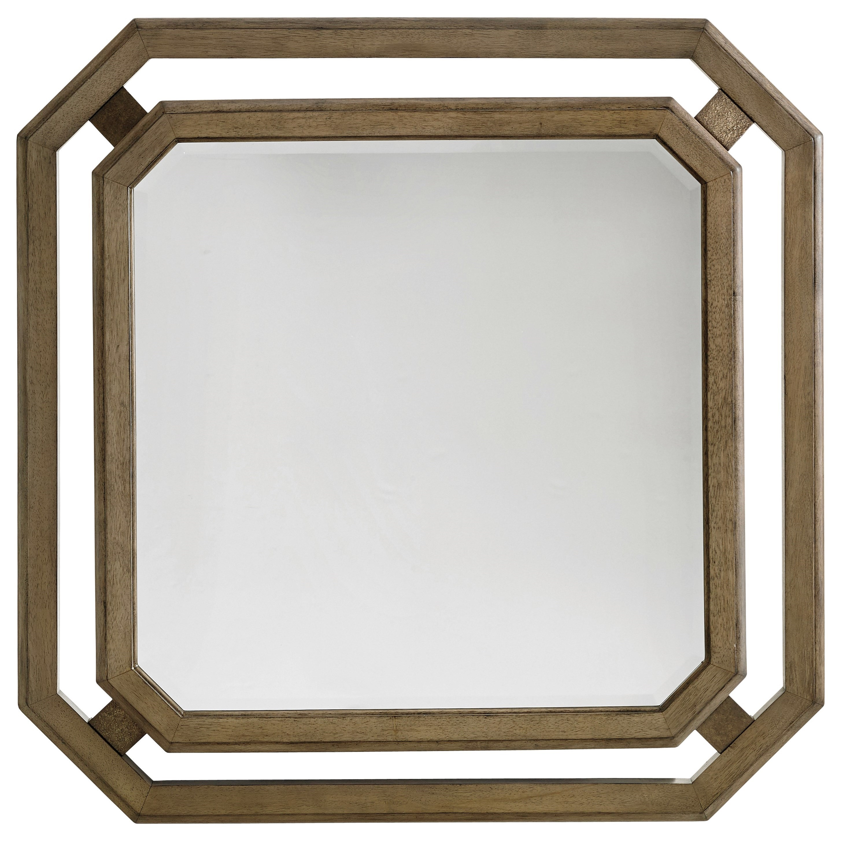 Tommy Bahama Home Cypress Point Callan Square Mirror - Item Number: 561-204