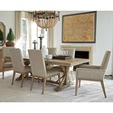 Tommy Bahama Home Cypress Point 7 Pc Dining Set - Item Number: 561-876C+2X881-01+4X880-01