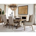 Tommy Bahama Home Cypress Point 7 Pc Dining Set - Item Number: 561-876C+4X880-01+2X885-01