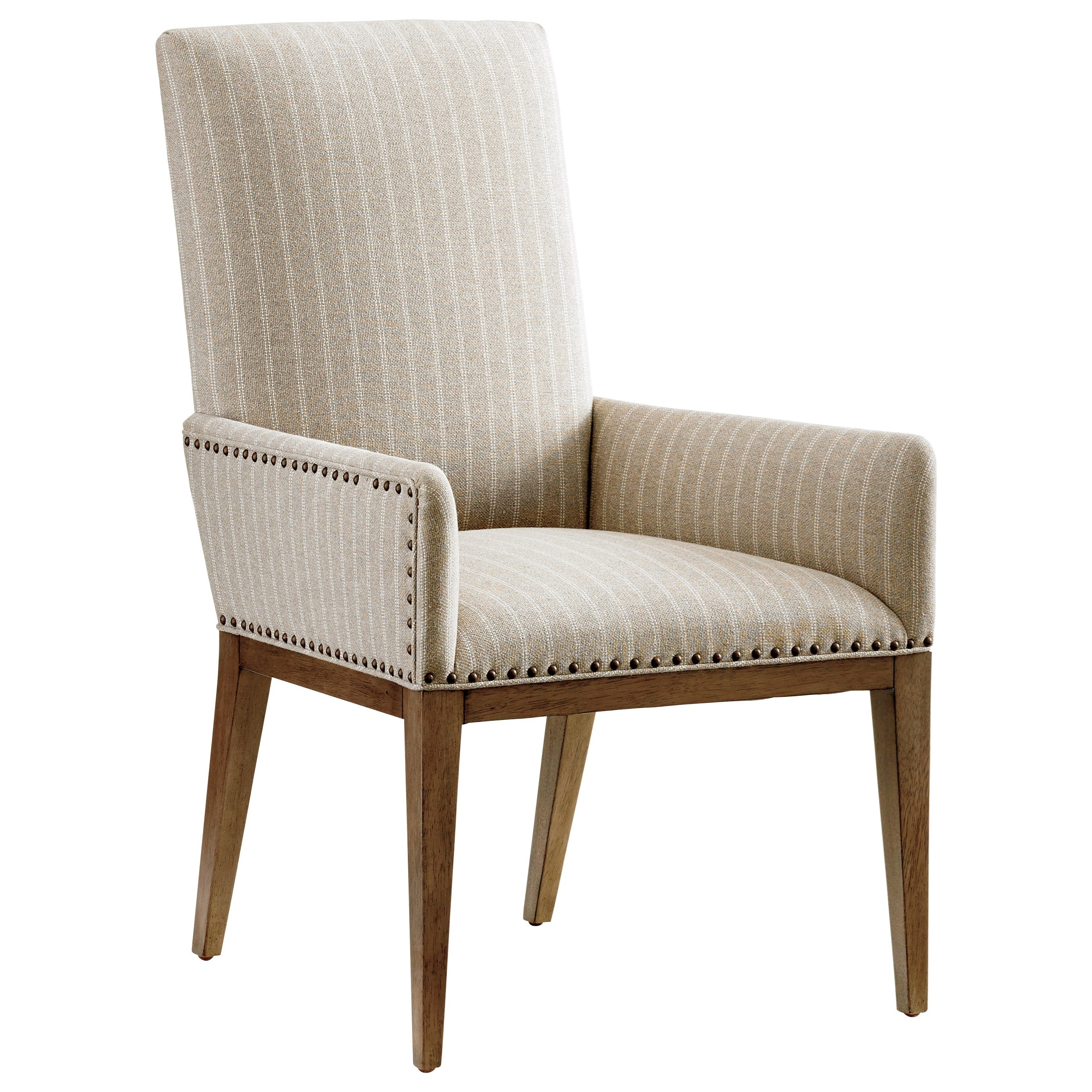 Cypress Point Devereaux Upholstered Arm Chair Custom by Tommy Bahama Home at Baer's Furniture