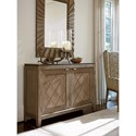 Tommy Bahama Home Cypress Point Emerson Hall Chest with Travertine Top