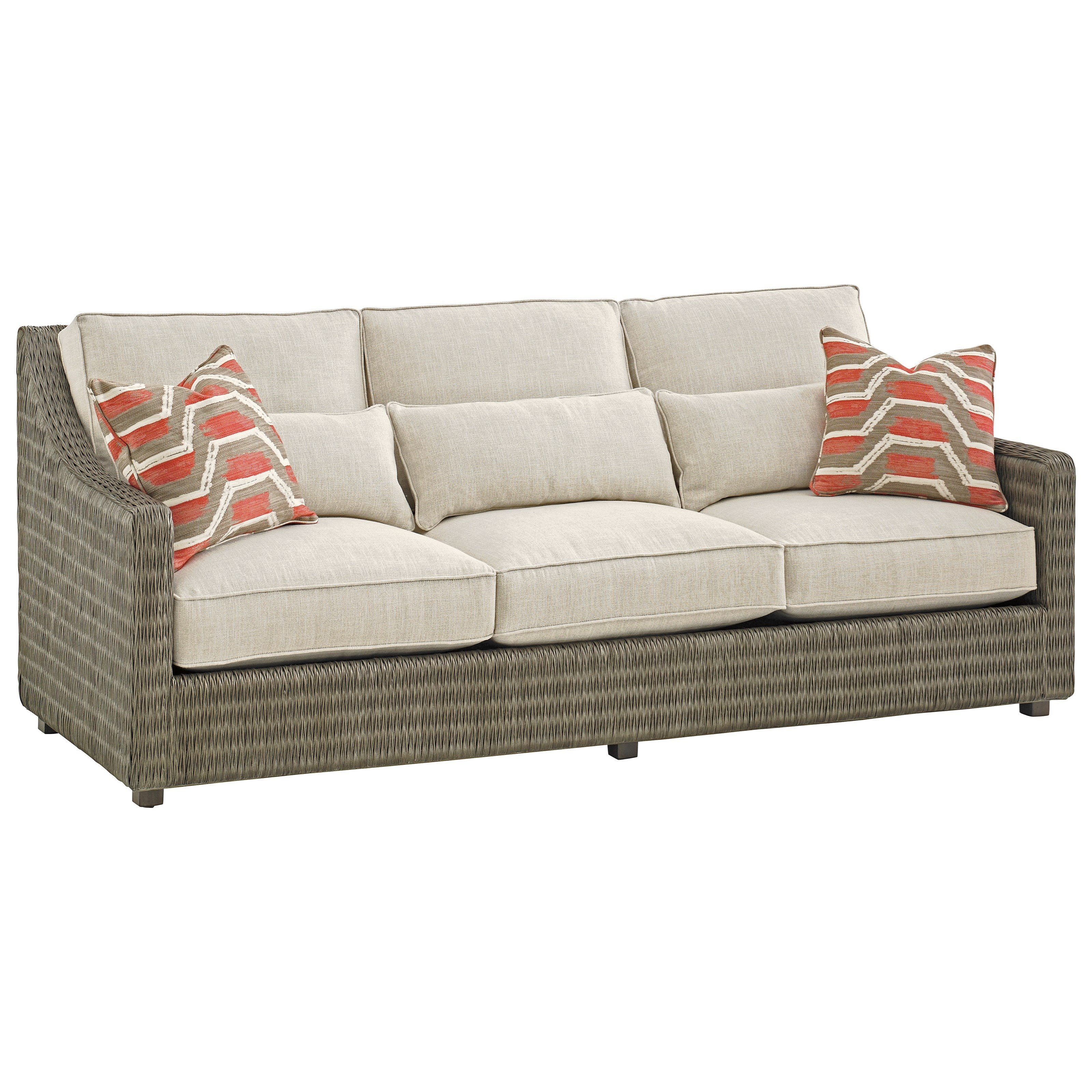 Cypress Point Hayes Sofa by Tommy Bahama Home at Baer's Furniture