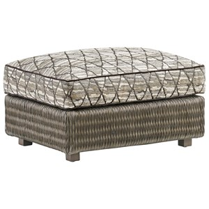 Tommy Bahama Home Cypress Point Hayes Ottoman