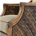 Tommy Bahama Home Island Estate Loose Back Wicker Rum Beach Chair