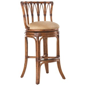 Quickship South Beach Swivel Bar Stool