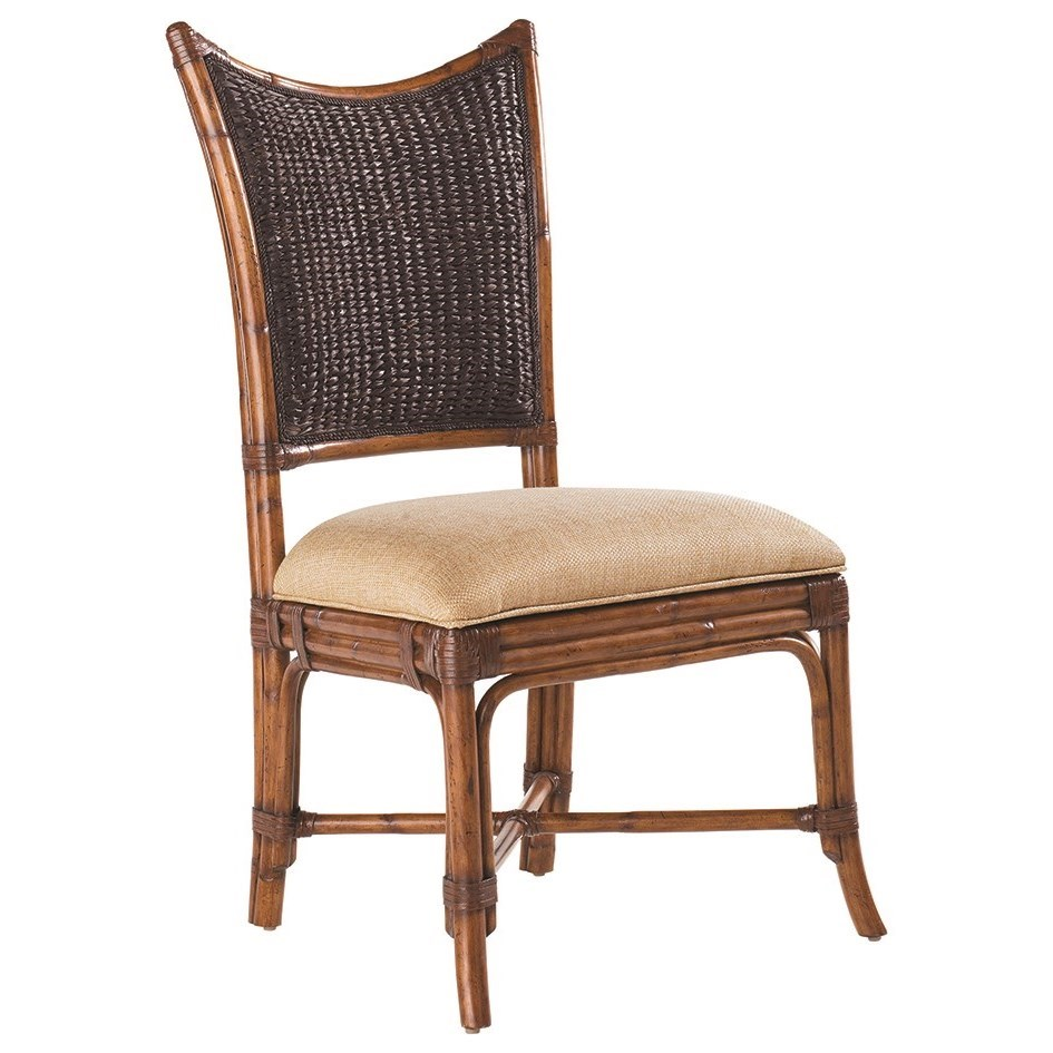 Island Estate Mangrove Side Chair by Tommy Bahama Home at Baer's Furniture
