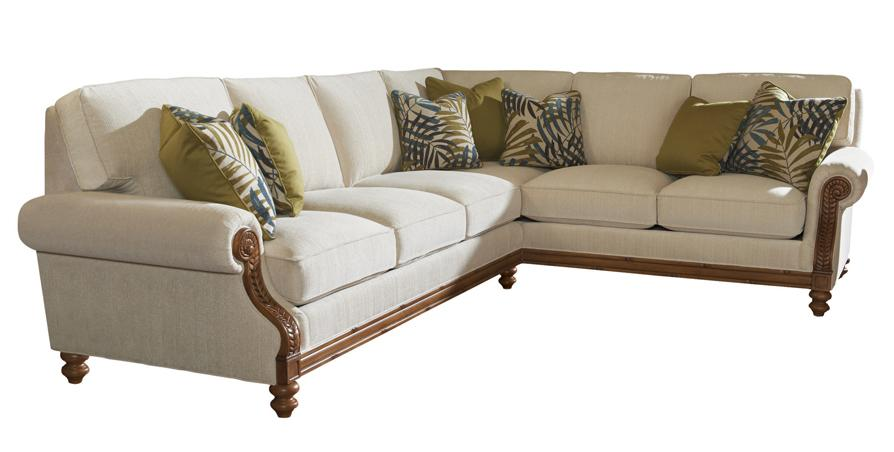 Island Estate West Shore Sectional Sofa RAF Corner by Tommy Bahama Home at Baer's Furniture