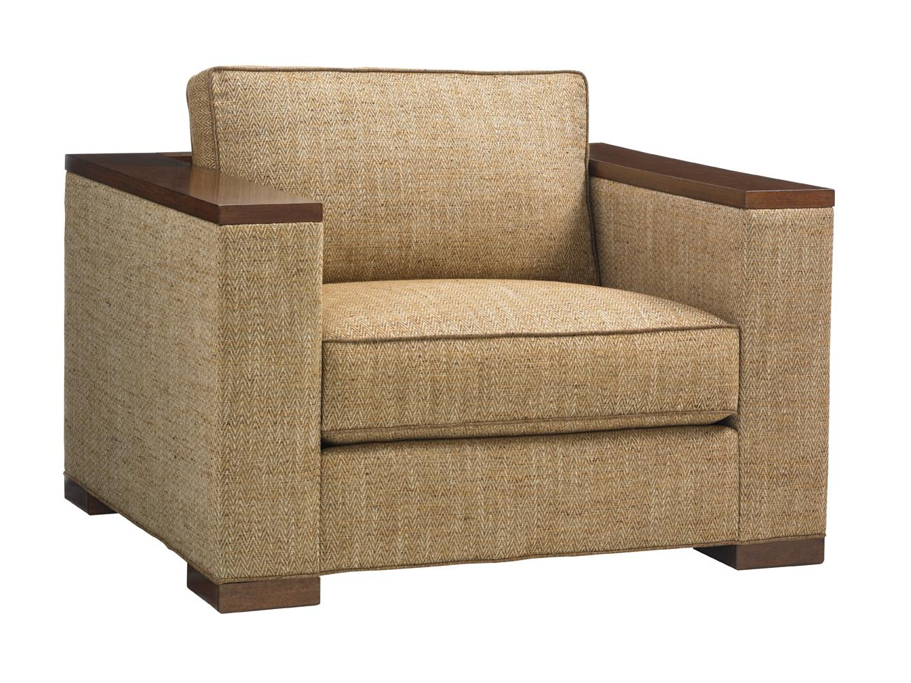 Island Fusion Fuji Chair by Tommy Bahama Home at Baer's Furniture