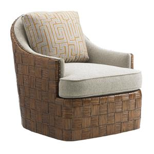 Tommy Bahama Home Island Fusion Nagano Swivel Chair