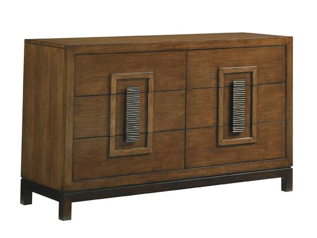 Tommy Bahama Home Island Fusion Tahara Dresser - Item Number: 556-222
