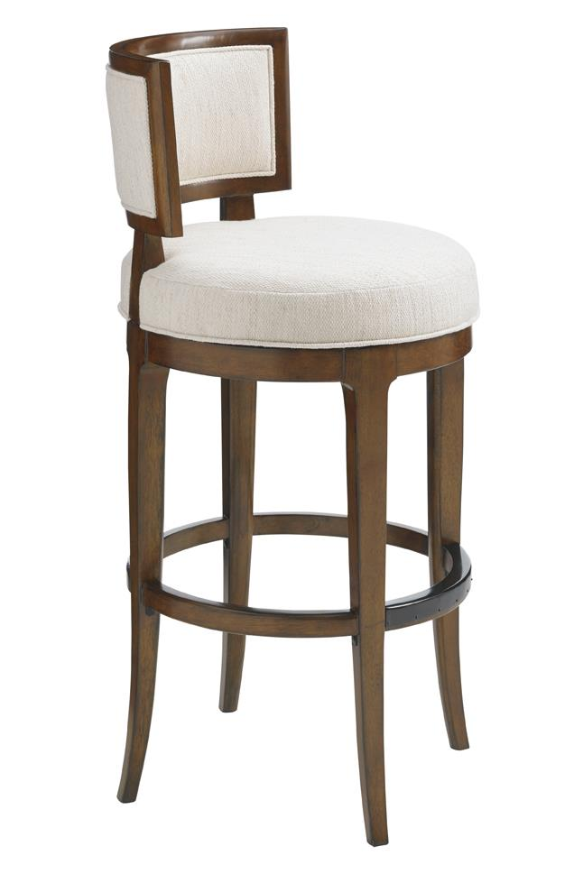 Tommy Bahama Home Island Fusion Macau Swivel Bar Stool  - Item Number: 556-816-02