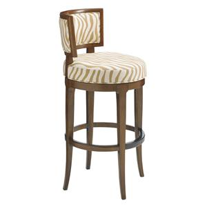 Macau Customizable Swivel Bar Stool