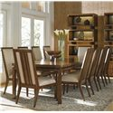Tommy Bahama Home Island Fusion 11 Piece Dining Set  - Item Number: 556-877+8X880-01+2X881-01