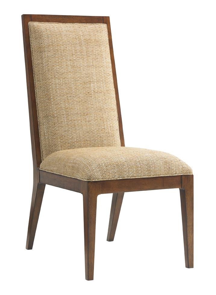 Island Fusion Natori Customizable Slat Back Side Chair by Tommy Bahama Home at Baer's Furniture