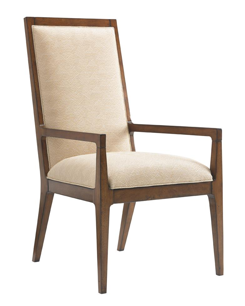 Tommy Bahama Home Island Fusion Natori Slat Back Arm Chair  - Item Number: 556-881-01