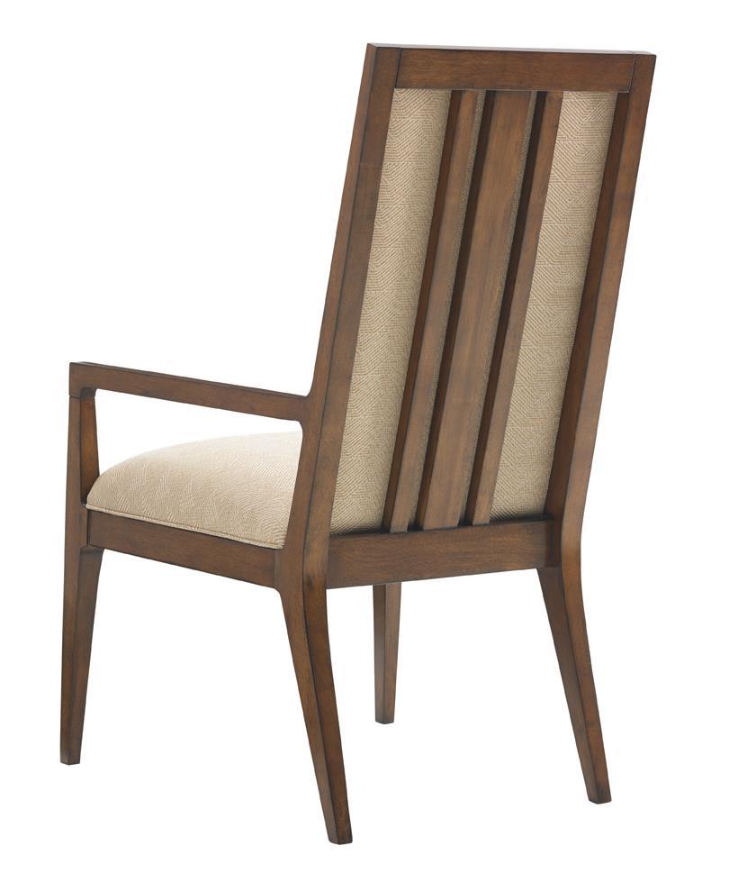 Tommy Bahama Home Island Fusion Natori Slat Back Arm Chair ...