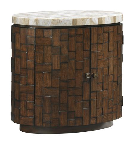 Tommy Bahama Home Island Fusion Banyan Oval Accent Table - Item Number: 556-950