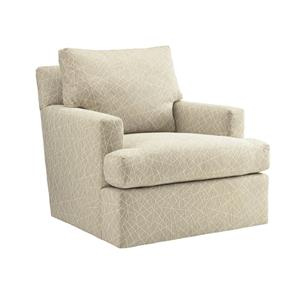 Tommy Bahama Home Island Fusion Bandar Swivel Chair