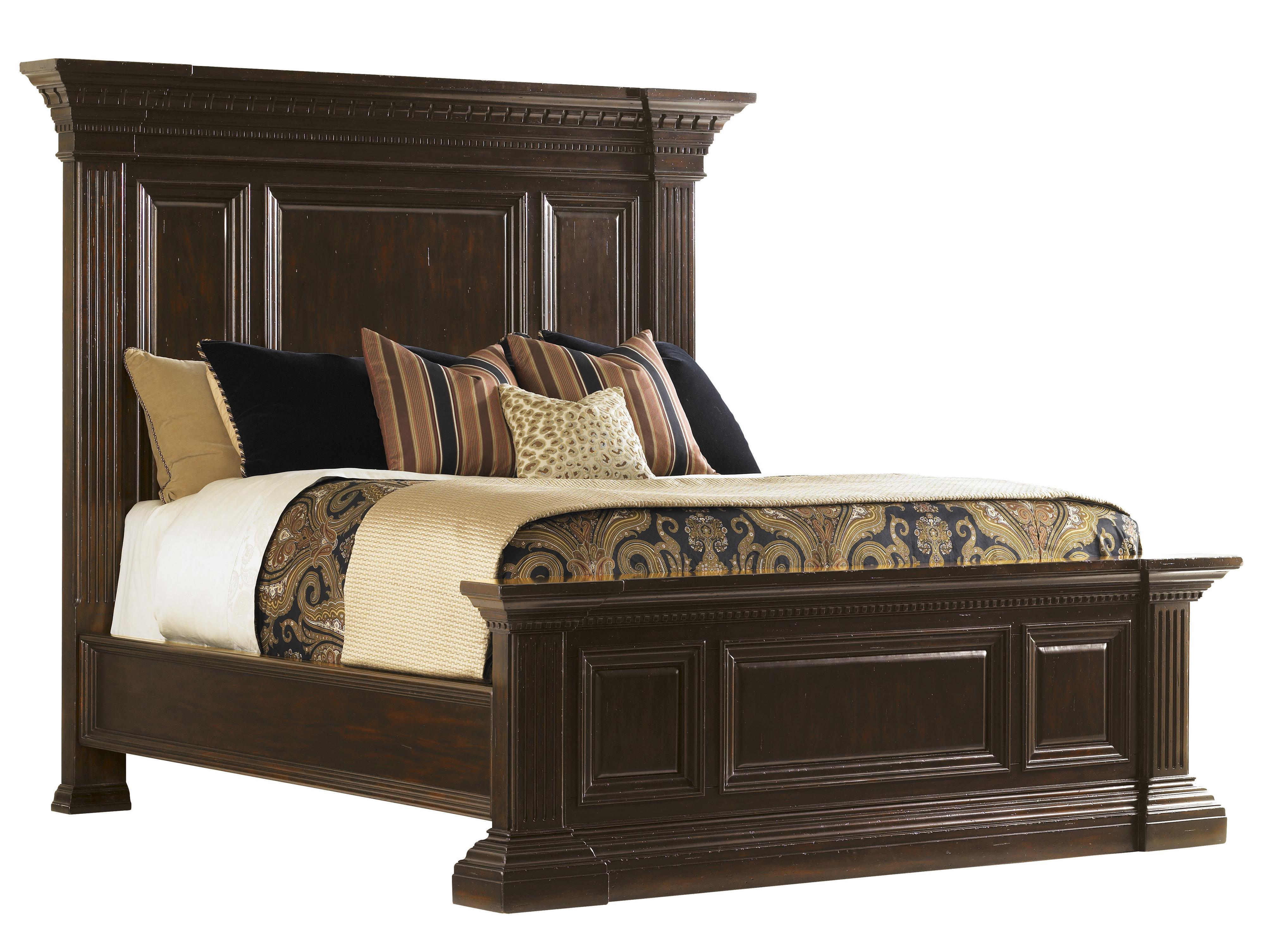 Tommy Bahama Home Island Traditions Queen Sutton Place Bed - Item Number: 548-143C