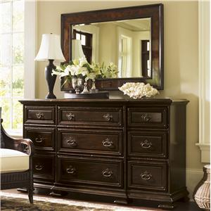 Tommy Bahama Home Island Traditions Bexley Dresser and Somerton Mirror