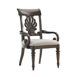 Tommy Bahama Home Island Traditions Chester Carved Arm Chair