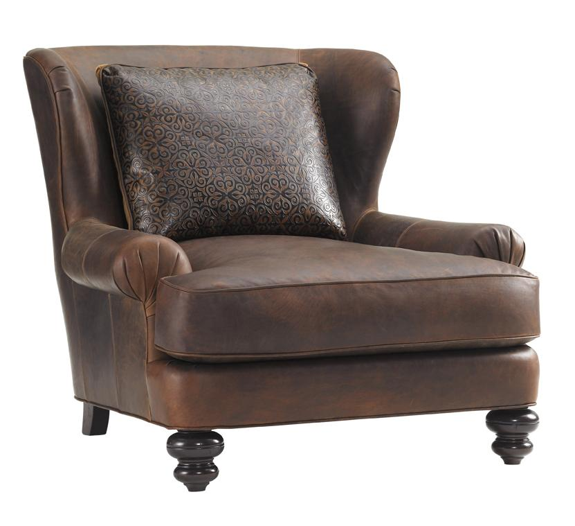 Tommy Bahama Upholstery Kent Chair by Tommy Bahama Home at Baer's Furniture