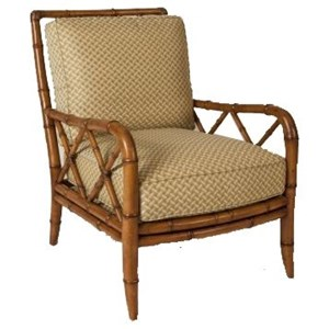 Tommy Bahama Home Ivory Key Heydon Chair