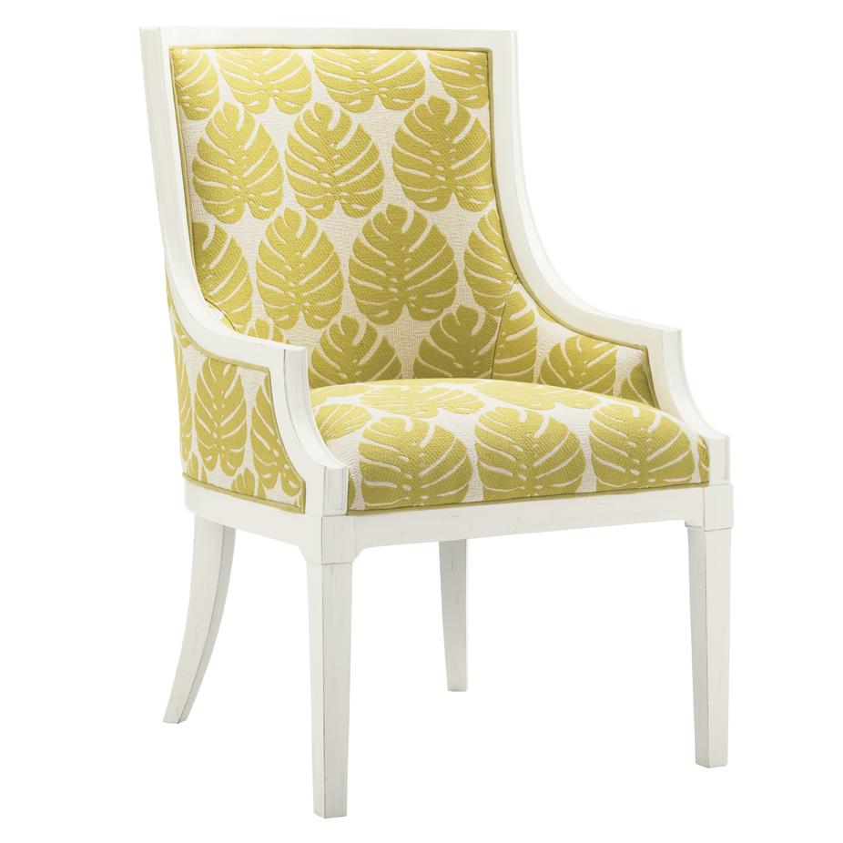 Ivory Key Aqua Bay Chair by Tommy Bahama Home at Baer's Furniture