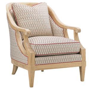 Tommy Bahama Home Ivory Key Shoal Bay Chair