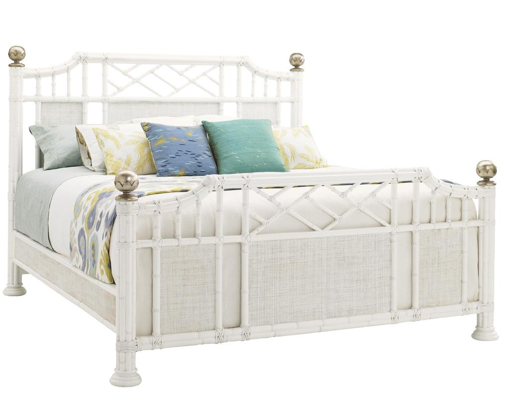 Ivory Key Queen Pritchards Bay Panel Bed by Tommy Bahama Home at Baer's Furniture