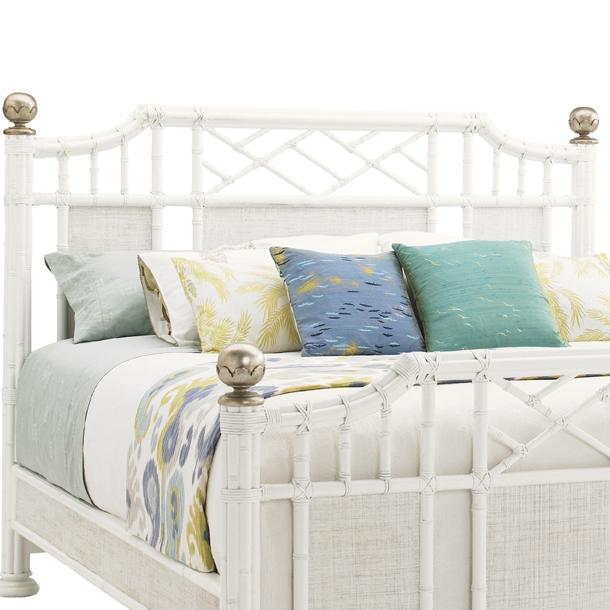 Tommy Bahama Home Ivory Key King Pritchards Bay Panel Headboard  - Item Number: 543-134HB